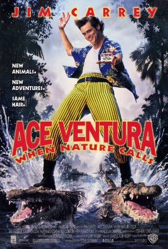 postersdepeliculas Ace Ventura: When Nature Calls by