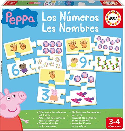 4. Aprendiendo los números con Peppa Pig - Juego de iniciación a las matemáticas