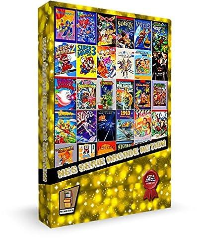Cartouche pour console NES SERIE ARCADE ACTION - New Ghostbusters 2 Super Mario Bros 1 2 3 Teenage Turtles 1 2 3 4 Megaman 1 2 3 4 5 6 Contra 1 2 3 Ninja Gaiden 1 2 3 Castlevania I & II Kirby