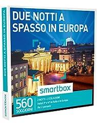 SMARTBOX - Cofanetto Regalo -DUE NOTTI A SPASSO IN EUROPA 2 notti con colazione 2 persone