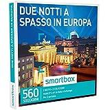smartbox - Cofanetto Regalo - Due Notti A SPASSO in Europa - 560 soggiorni in Hotel 3* e 4* in Italia e in Europa: Parigi, Budapest, Praga, Istanbul...