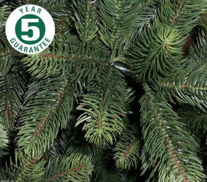 Best Artificial (TM 8ft Premium Real Feel Árbol de Navidad con bisagra...