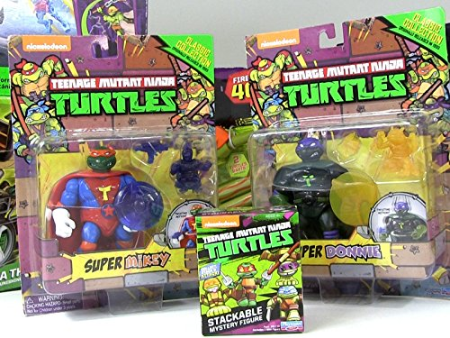 Review: Super Mikey and Super Donnie Action Figure -