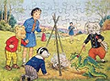 Vintage 1973 Rupert The Bear And Friends 80 Piece Hope Jigsaw Puzzle Complete In Box