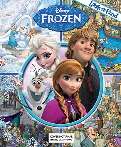Click for larger image of Disney Frozen - Look and Find