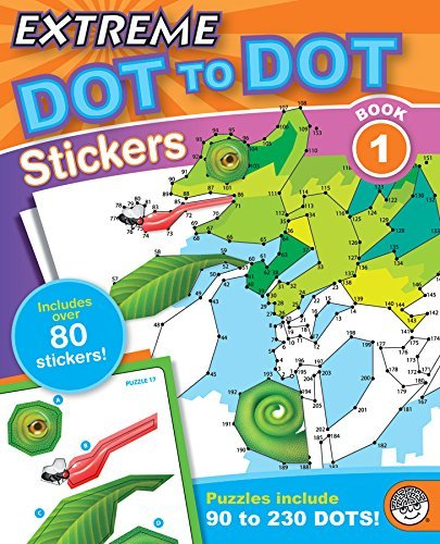 Extreme Dot to Dot Stickers 1