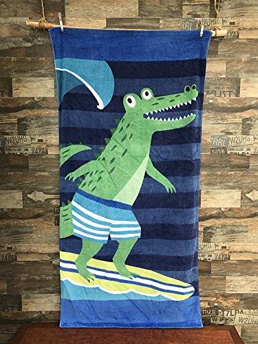 Li Yu cartoon toalla de playa de algodón puro corte activo /.