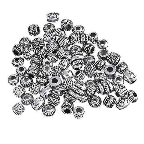 ANKKO DIY antique silver jewelry Pandora Style