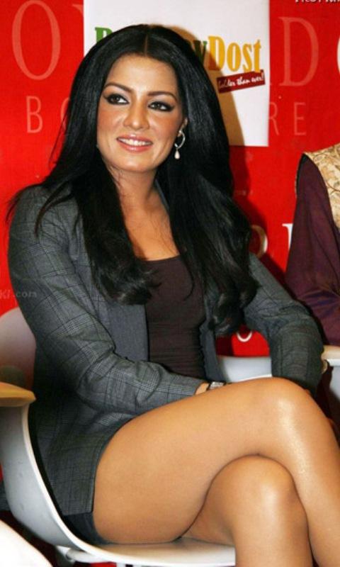 hot thighs of indian actress