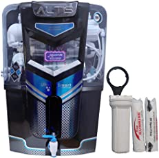 DE AquaZpure 15L 14 Stage RO UV UF TDS Alkaline Water Purifier with Full KIT (A800)
