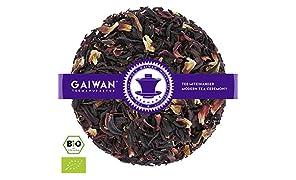 """Núm. 1260: Té de hierbas orgánico """"Hibisco"""" - hojas sueltas ecológico - 100 g - GAIWAN® GERMANY - té de hierbas de la agricultura ecológica en Burkina Faso"""