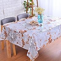 Mantel De Jardín Impermeable Y Resistente Al Aceite Pvc Mantel De Vidrio Suave Mate Mesa De Café De Alta Temperatura Desechable