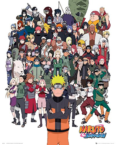 "GB Eye LTD, Naruto ""Shippuden"", Group, Mini Poster, 40 x 50 cm"
