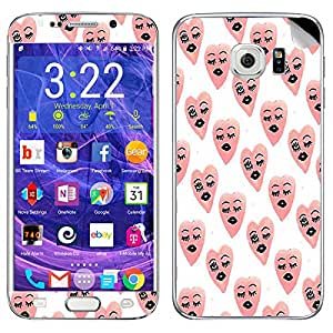 Theskinmantra Heart Faces Samsung Galaxy S6 Edge Plus mobile skin