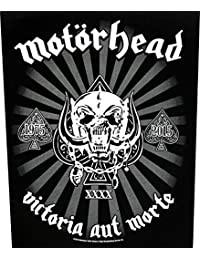 Motörhead dos Badges Victoria aut Morte Back Patch écusson