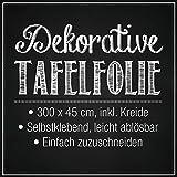 Tafelfolie-Set 300 x 45 cm inkl. Kreide