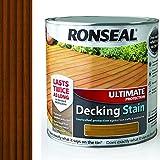 Ronseal UDSRT25L 2.5 Litre Ultimate Protection Decking Stain - Teak