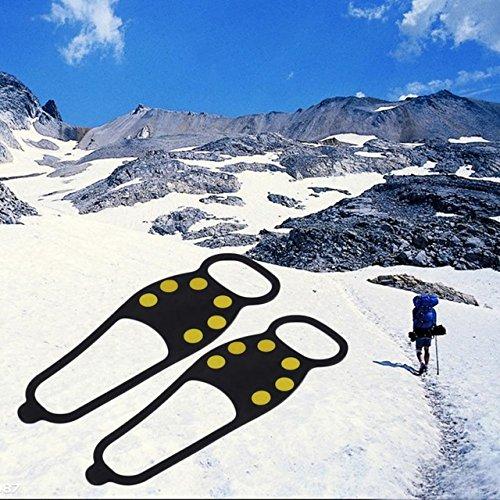 Generic Walking Cleat Ice Gripper Anti Slip Ice Snow Walking Shoe Spike Grip New