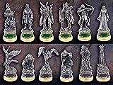 Herr der Ringe Schachfiguren Die Zwei Tuerme Ergaenzungs-Set