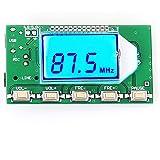 iHaospace Digital FM-sändare stereo frekvensmodul DSP PLL 76.0–108.0 MHz trådlös modul LCD-skärm