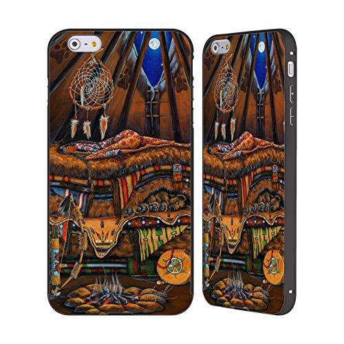 Ufficiale Denyse Klette Madre Celtica La Principessa E Il Pisello Nero Cover Contorno con Bumper in Alluminio per Apple iPhone 6 Plus / 6s Plus Prime Nazioni Madre