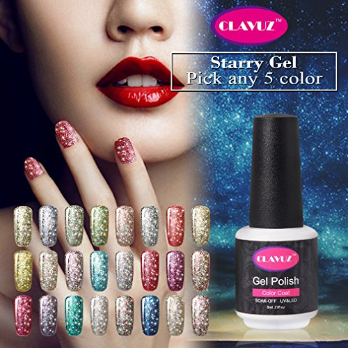 clavuz-nagellack-starry-gel-farbkollektion-im-set-manikre-glitzergalaxie-8ml