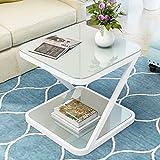 AJZXHE Nordic Mini Couchtisch, Schlafzimmer quadratischer Tisch, kreativer Couchtisch Einfacher Desktop (Design : 2, größe : 50 * 50 * 50cm)