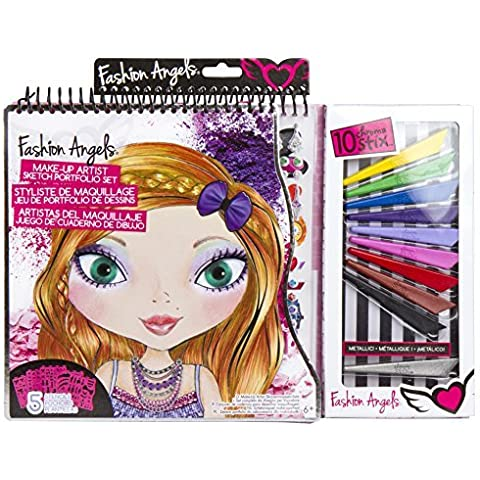 Fashion Angels Make-Up Artist Sketch Portfolio Set by Fashion Angels