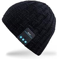 Rotibox Cappello Berretto Bluetooth, Cappellino Trendy con Auricolare Wireless Vivavoce per Palestra Fitness Allenamento…