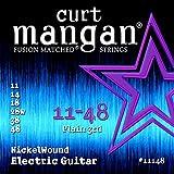 Curt Mangan Nickel Wound 11-48 jeu de cordes pour guitare électrique