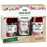 alkmene Trio-Set Bio Malve, Geschenkset mit Sensitiv Duschgel, Sensitiv Körperbalsam und Sensitiv Handbalsam, für empfindliche Haut - 1er Pack (1x1 Stück)