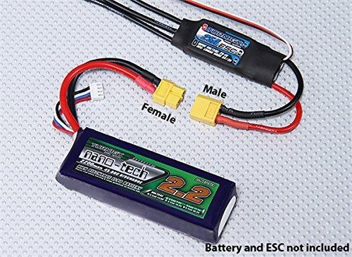 HobbyKing Female XT60 Connectors (5pcs/bag) GENUINE