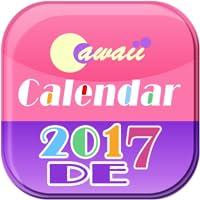 Cawaii DE Kalender 2017