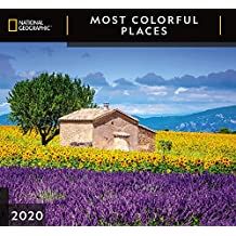 National Geographic Most Colorful Places 2020 Wall Calendar