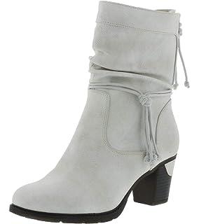 Rieker Y8080 Damen Langschaft Stiefel: : Schuhe