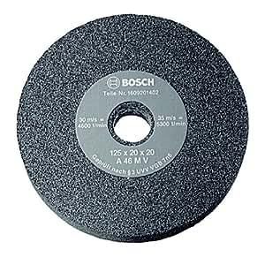Bosch 1 609 201 404 Meule pour Touret à meuler 125 mm, 20 mm, 80