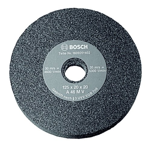 Bosch Zubehör 2608600109 Schleifscheibe für Doppelschleifmaschine 175 mm, 32 mm, 36