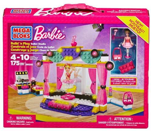 Barbie - Estudio Ballet Mega Brands 80292