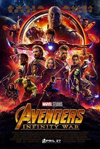 Import Posters The Avengers : Infinity War - US Movie Wall Poster Print - 30CM X 43CM