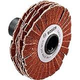 Bosch Abrasif bois pour ponceuse PRR 250 ES 15 mm G80 Rouge