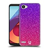 Head Case Designs Glitter Sfumati Trend Mix Cover Morbida In Gel Per LG Q6/Q6 Plus
