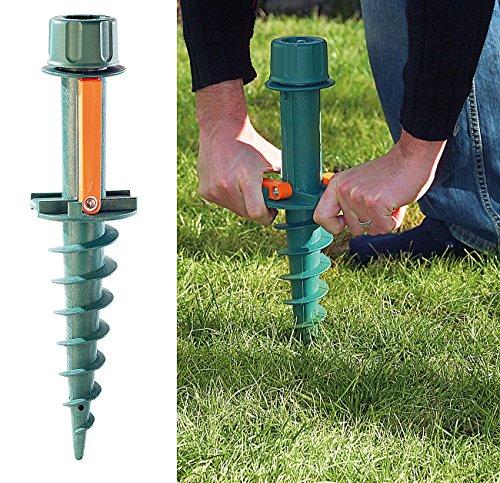 Royal Gardineer Schirmständer: Universal-Sonnenschirmständer mit Bodendübel (Sonnenschirm Bodendübel)