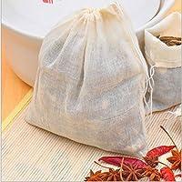 Asentechuk® 5 PCS Cordon de serrage Sac de résidus de médecine de cuisine Sachet Sac Slag Séparation cuisson soupe Sac…