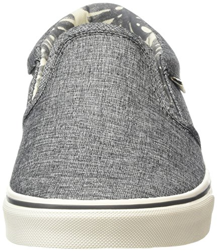 Vans Herren Asher Low-Top Grau (palm Leaf/washed Black)