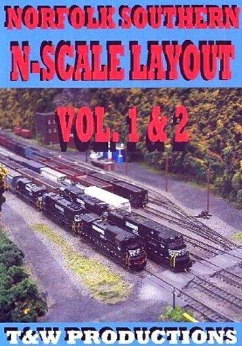 Norfolk Southern N Scale Layout by Model Railroad (Model Railroad Layout)