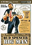 Big Man Series 6-DVD Set Bud Spencer ( Boomerang / Polizza droga / Another Falling Star / Big Man: The False Etruscan / An Inusual Insurance / A Policy fo [ NON-USA FORMAT, PAL, Reg.0 Import - Italy ] by Bud Spencer