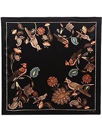 Rohit Bal Women's Silk Bird Print Scarf (Multicolour)