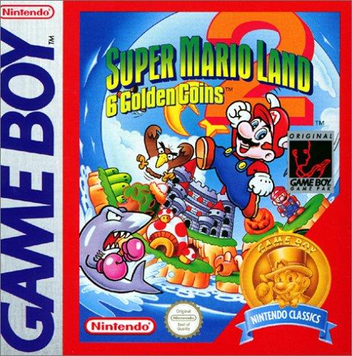 Super Mario Land 2 - Jahr-etiketten