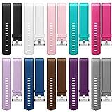 Fitbit Charge 2pulseras, hanlesi silicona ajustable para deportes reloj de pulsera pulsera para Fitbit Charge 2Smart Watch armbander