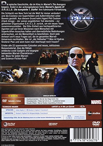 Marvel's Agents of S.H.I.E.L.D. - Die komplette erste Staffel [6 DVDs] - 2
